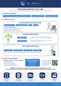 opérations marketing par qr code
