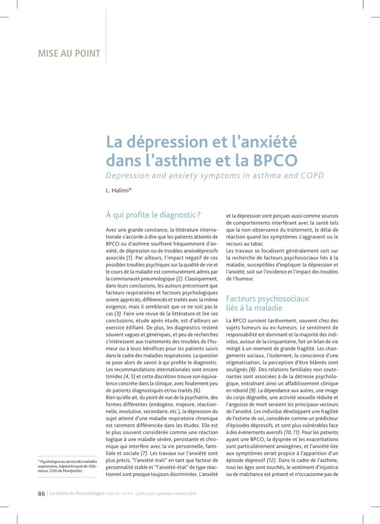 conseils pour sortir avec une personne souffrant de dépression et d'anxiété Dating philosophie 101 fanfic