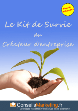 Le Kit de Survie - ConseilsMarketing.fr