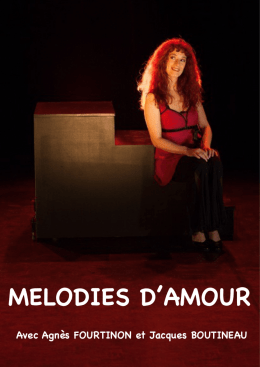 melodies d`amour - Agnes Fourtinon