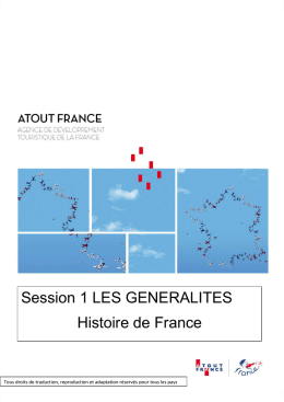Histoire de France - E-learning Atout France