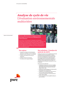 Analyse de cycle de vie: L`évaluation