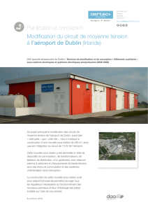 Planification et conception Modification du circuit de moyenne