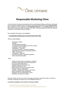 Responsable Marketing Chine