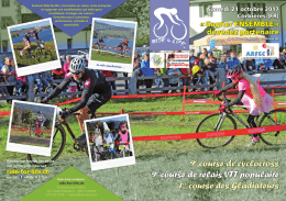 9e course de cyclocross 9e course de relais VTT