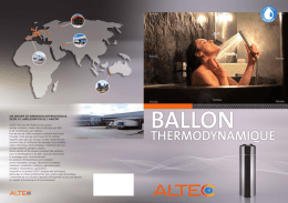 Ballon thermodynamique Domos Industries