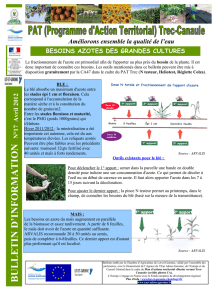 Bulletin d`information n°17 Avril 2012