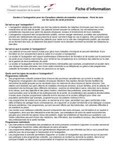 Fiche d`information - Health Council Canada
