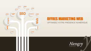 Les services marketing Web pour PME