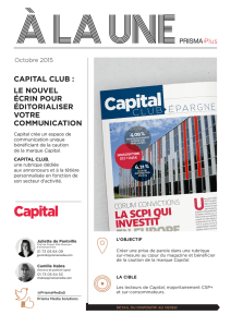 capital club - Prisma Media Solutions