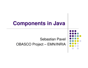 Components in Java