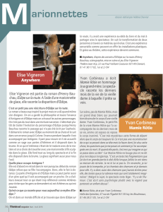 Interview Théâtral Magazine
