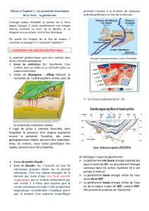 cours geothermie