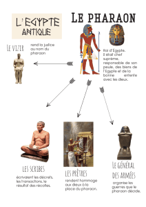 Le pharaon - WordPress.com