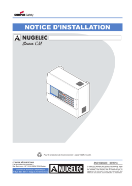 notice d`installation