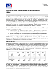 Mali - Fiche pays - 2 pages _mars13_