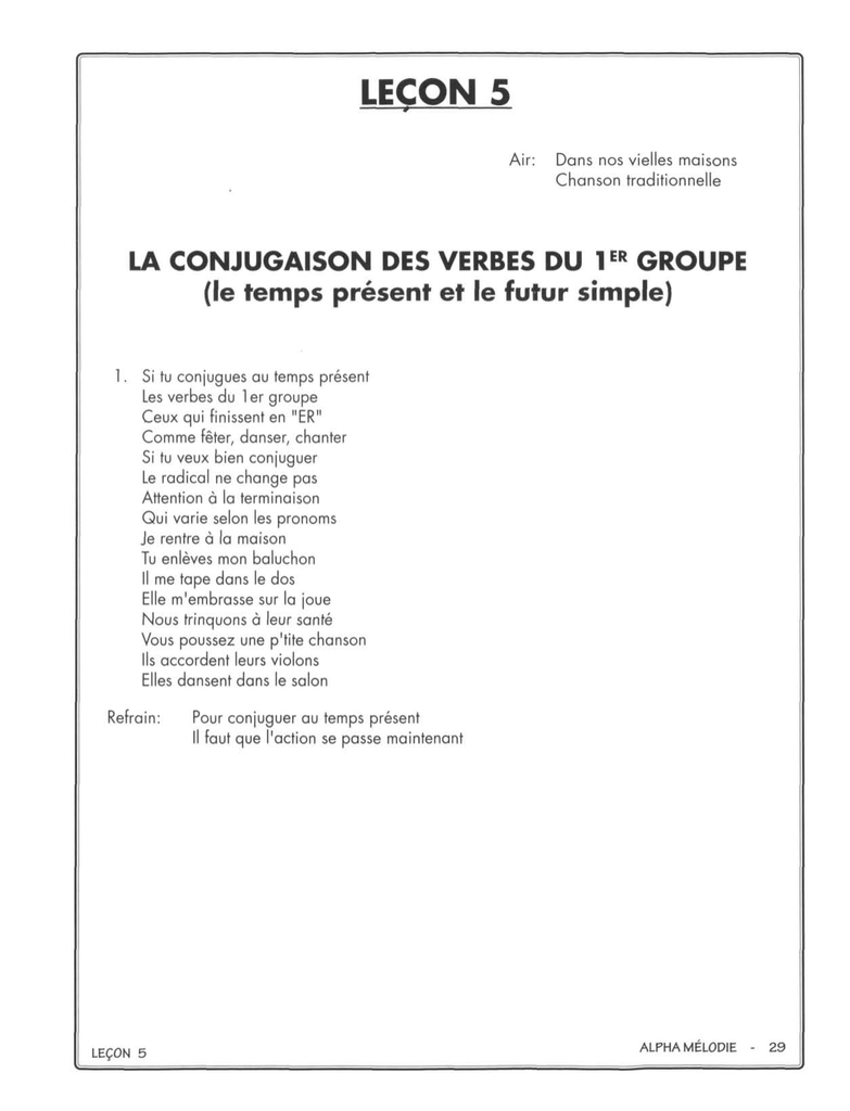 Imprimer Les Exercices De La Lecon 5