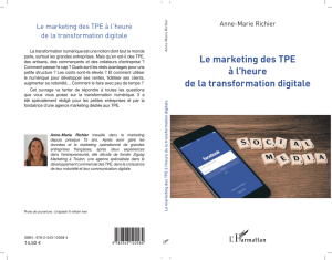 Le marketing des TPE à l`heure de la transformation digitale
