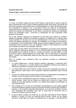 Question René Fürst QA 3067.07 Projet de ligne à haute tension