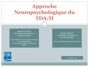 Point de vue neuropsychologue Magalie CARADO