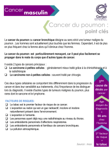 Fiche 4 – cancer du poumon