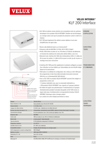 KLF 200 Interface