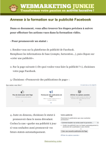 guide facebook - Virtuose de la Vie