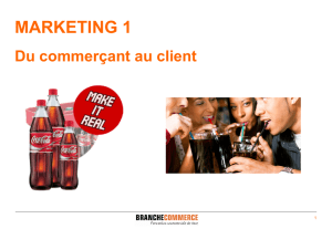 MARKETING 1 - Branche Commerce