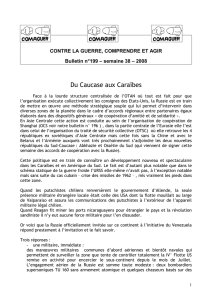 Bulletin 199 de Comaguer - Collectif Communiste Polex
