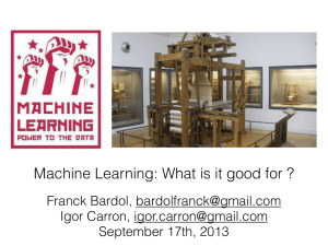 Machine Learning 3