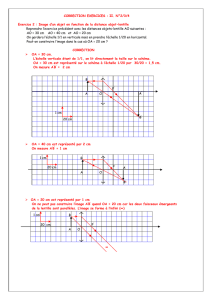 CORRECTION EXERCICES : II. N°2/3/4 Exercice 2 : Image d`un