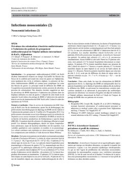 Infections nosocomiales (2)
