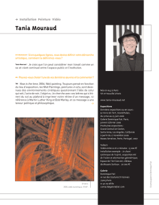 Tania Mouraud - Art Absolument