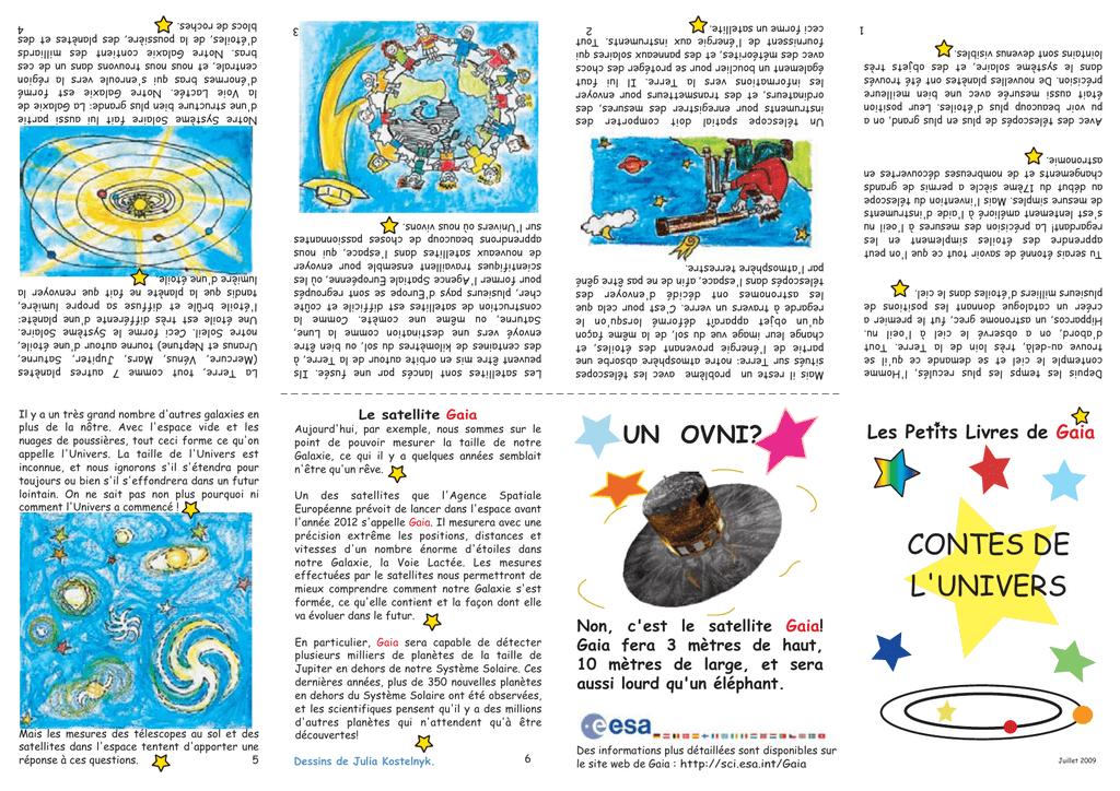Contes De L Univers Cosmos