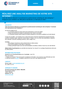 réalisez une analyse marketing de votre site internet