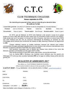 Club Technique Couleurs