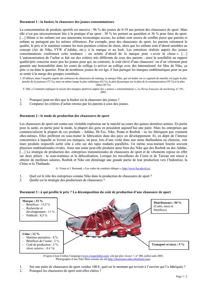 b27f74f243742 La paire de Nike - documents