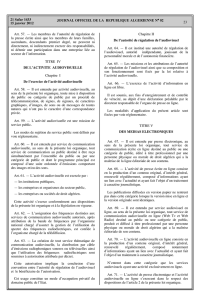 JOURNAL OFFICIEL DE LA REPUBLIQUE ALGERIENNE NA 02 23