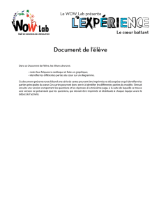 Document de l`élève - Welcome to the WOW Lab at McGill University