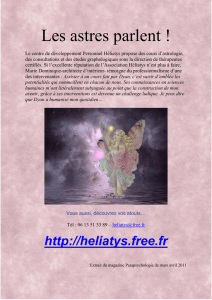 L`astrologie, une science fiable