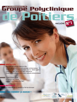 Magazine - Polyclinique de Poitiers
