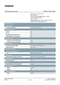 Product data sheet 6ES7214-1BG31-0XB0