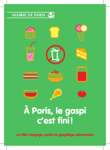 La Ville s`engage contre le gaspillage alimentaire