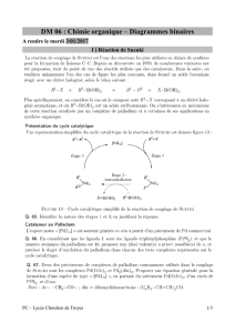 DM 06 : Chimie organique – Diagrammes binaires