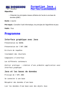 Formation Java : Perfectionnement