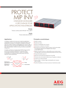protect mip inv - AEG Power Solutions