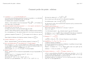 Comment perdre des points : solutions