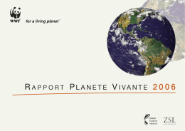 Planète Vivante 2006 - Global Footprint Network