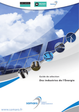 Samaro guide de la maintenance des industries de l energie
