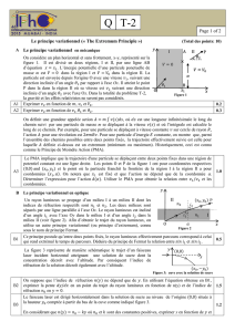 Page 1 of 2 Le principe variationnel (« The Extremum Principle ») A